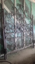 Hand Forged Wrought Iron Scroll Queen Bed Headb... - $1,723.95