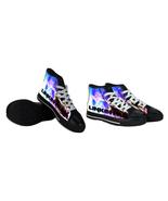Rare New Chester Bennington Linkin Park Band Shoes Men Unisex - $48.99