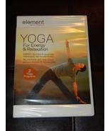 Brand New! Element: Yoga for Energy & Relaxation DVD Region 1 Free Shipp... - $9.90