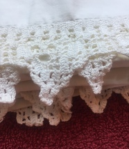 Set of Vintage 30s Intricate Crocheted Full Edge Pillowcases image 4