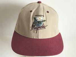 Disney's Magnolia PRO Collection Khaki & Maroon Adjustable Baseball Hat - $14.96