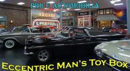 Eccentric Man's Toy Box Classic Cars Price Automobilia Collection Metal ... - $30.00