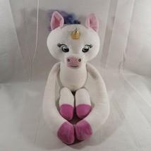 WowWee Fingerlings HUGS - Mackenzie (White and Light-up Horn) Plush Baby Unicorn - $18.69