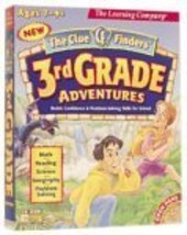 Clue Finders 3rd Grade Adventures Ages 7-9 [CD-ROM] Windows NT / Mac / Linux / U - $45.55