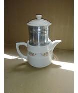 Vintage Enterprise Aluminum Co. Dripolator Coffee Pot Percolator Rose Pa... - $39.99