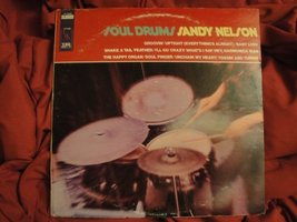Sandy Nelson Soul Drums 1968 Imperial Records LP-12362 Stereo Vinyl Records EX [