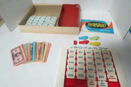 Vintage 1964 Jeopardy  Trivia Board Game 6th Edition Complete In Original Box - $14.99