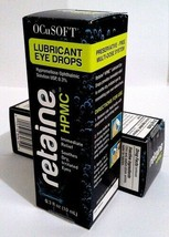 RETAINE HPMC - 10ml - ocusoft eye - exp. date: 07 / 2021 - (Pack of 2)  - $34.62