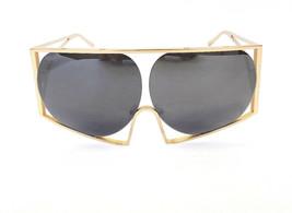 TODD LYNN x LINDA FARROW Women's Sunglasses TL/4/2 Gold Metal MADE IN JA... - $199.95