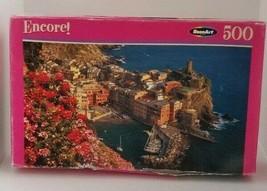 Roseart Encore! Italian Riviera 500 Piece Jigsaw Puzzle 06052 New Bad Box - $9.49