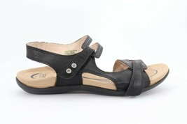 Abeo Crescent Strap Sandals Black Size US 11 Metatarsal Footbed(EP)4513 - $92.00