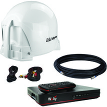 KING VQ4450 DISH Tailgater Portable Satellite TV System Bundle - $457.99