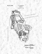 Automobile Patent Print - Gunmetal - $7.95+