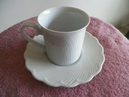 Dansk Blanc cup and saucer 4 available - $5.79