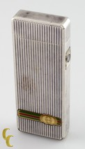 Vintage Gucci Silver Lighter with IC Sensor Nice Condition! - $374.22