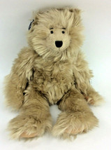 "Ganz Oswald Teddy Bear Brown Furry Plush 12"" Heritage Collection 1999 NEW - $27.08"