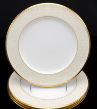 Noritake White Palace * 4 SALAD PLATES * Excellent Condition! - $44.99