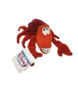 DISNEY STORE LITTLE MERMAID RED SEBASTIAN BEAN BAG STUFFED ANIMAL PLUSH ... - $23.38