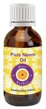 100% Natural Neem Oil - 50 ml Pure Essential Oil Therapeutic Grade Cold ... - $10.39