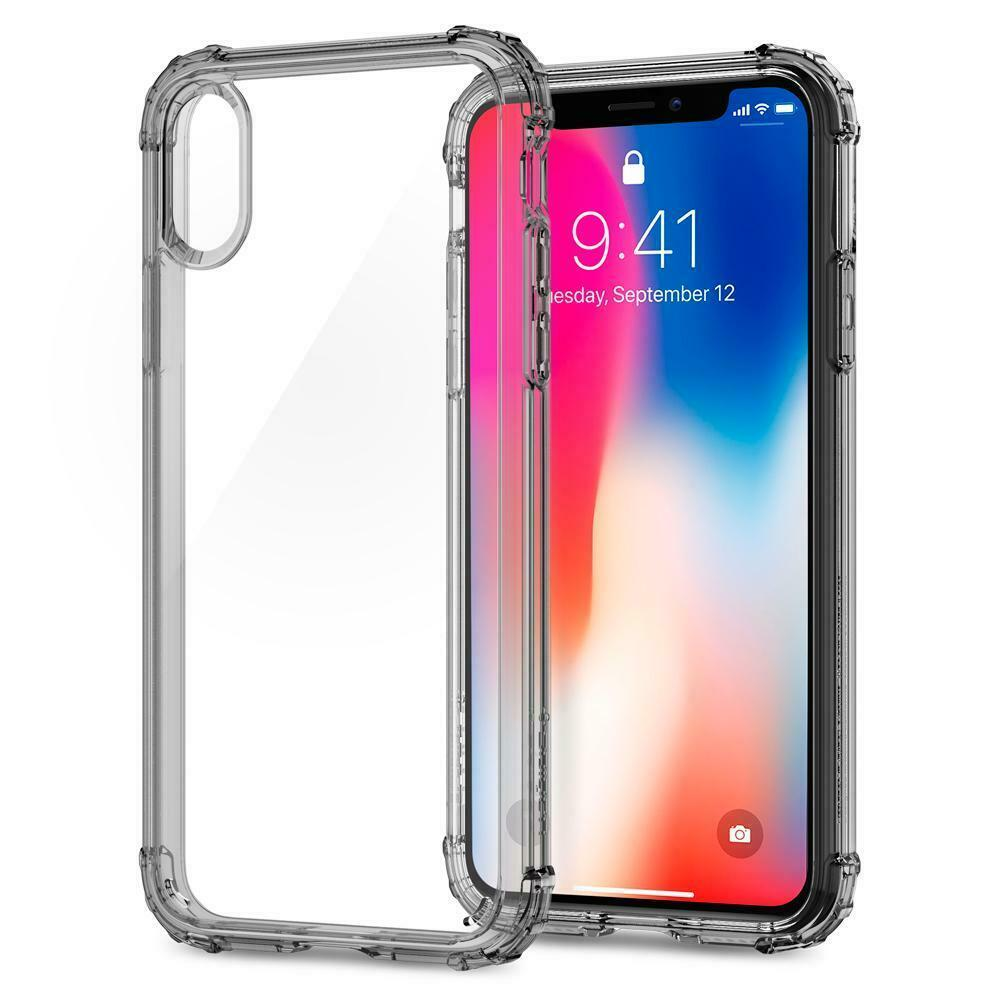 Spigen Crystal Shell Air Cushion Technology Case for iPhone 2017  X Clear NWT