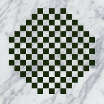 Make Your Own Octagonal Chess & Checker Game Board Vinyl Wall Sticker Decal - $10.99+