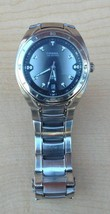 Men's FOSSIL BLUE Model AM-3752 Stainless Steel Water Resistant Watch - $40.58