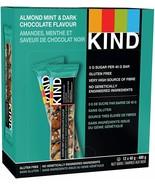 KIND Bar Dark Chocolate Almond Mint Gluten Free 40 Grams 12Count FRESH D... - $16.68