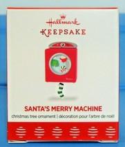 2017 Hallmark Miniature Christmas Ornament Santa's Merry Machine Washer ... - $11.90