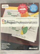 Microsoft Office Project Professional 2003 WIN32 English AE CD for Win. 2000/XP - $62.36