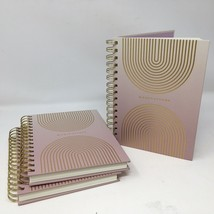 Mediations Spiral Journal Diary Notebook Brand New Hardcover Lot Of 3 Pi... - $15.91