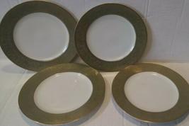 "SANGO CHINA VERSAILLES 3632 MADE IN JAPAN 7 3/4"" SALAD PLATE set of 4 - $38.60"