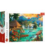 Trefl Island Life 3000 Pcs Pieces Jigsaw Puzzle - $38.94
