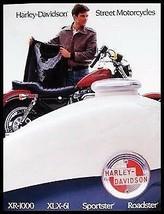 1985 Harley-Davidson Brochure Sportster XLX-61 Roadster XR-1000 Original... - $20.18