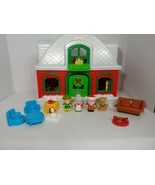 Fisher Price Little People Santa's North Pole CHRISTMAS HOUSE COTTAGE se... - $79.19