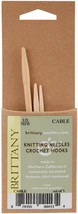 "Brittany Cable Knitting Needles 3.75"" 3/Pkg-Sizes 2.5/3mm, 4/3.5mm & 7/4... - $7.32"