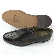 Florsheim Oxford Brogue Wingtip Brown US 9 Dress ShoesFinley 11171-201 NEW $100 - $89.09