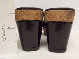 11 DONALD Platform Shoes Slide Black Size Sandals PLINER 'Charm' Stretch Babric qPgPEwr