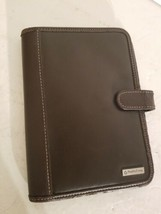 Franklin Covey Brown Weekly Planner Organizer Compass System Notes.Gentl... - $18.69