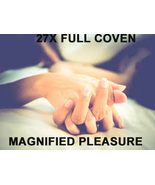 FULL COVEN 27X MAGNIFIED PLEASURE & PERFORMANCE Magick 925 LED BY 98 Witch - $38.00
