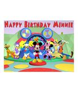 Mickey Mouse Clubhouse Edible Cake Image Cake Topper - $8.98+