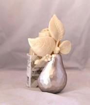 Bath Body Works Cream Silver Pear Brushed Metallic Wallflower Diffuser Plug - €11,32 EUR