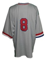 Huntsville Stars Retro Baseball Jersey Grey Any Size image 4