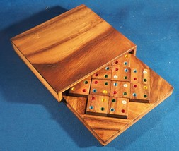 Vintage Wood Tile Game - $9.89
