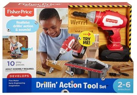 Fisher Price Drillin' Action Tool Set  - $24.99