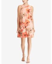 Lauren Ralph Lauren Dress Sleeveless Pink Floral Sz 12 NEW NWT - $155.00