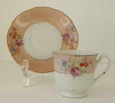 Vintage Tea Cup and Saucer OCCUPIED Japan - $7.45