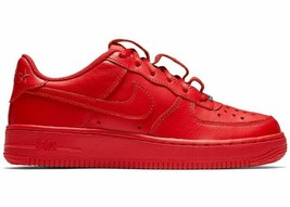 Nike AF1 QS (GS) Air Force 1 University Red Basketball Shoes AR0688 600 - $84.95