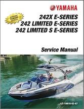 2016-2020 Yamaha 242X / 242 Limited / S E-Series Boat Service Repair Manual CD - $12.99