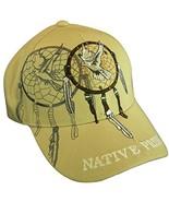 Native Pride Dove Men's Adjustable Baseball Cap (Beige) - $12.95