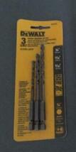"Dewalt Rotary Masonry Drill Bit Set concrete 1/4 "", 3/16 "", 5/32 "" hex shank - $11.99"
